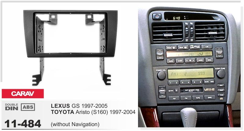 Frame Android 6 0 Car Dvd For Lexus Gs Toyota Aristo S160 1997