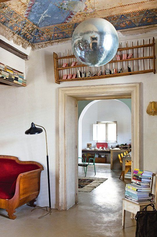 A Gorgeous 16th Century Apartment with a Modern Soul u2014 HomeLife