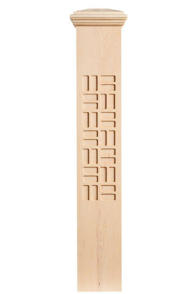 Best Zen Post With Images Newel Posts Geometric Designs Zen 400 x 300