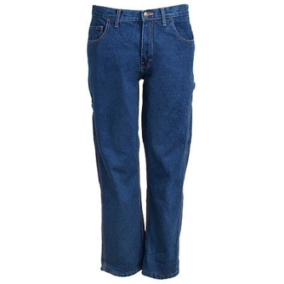 Berne Apparel Men's P2213 SWD Lined Dungaree Blue Jeans