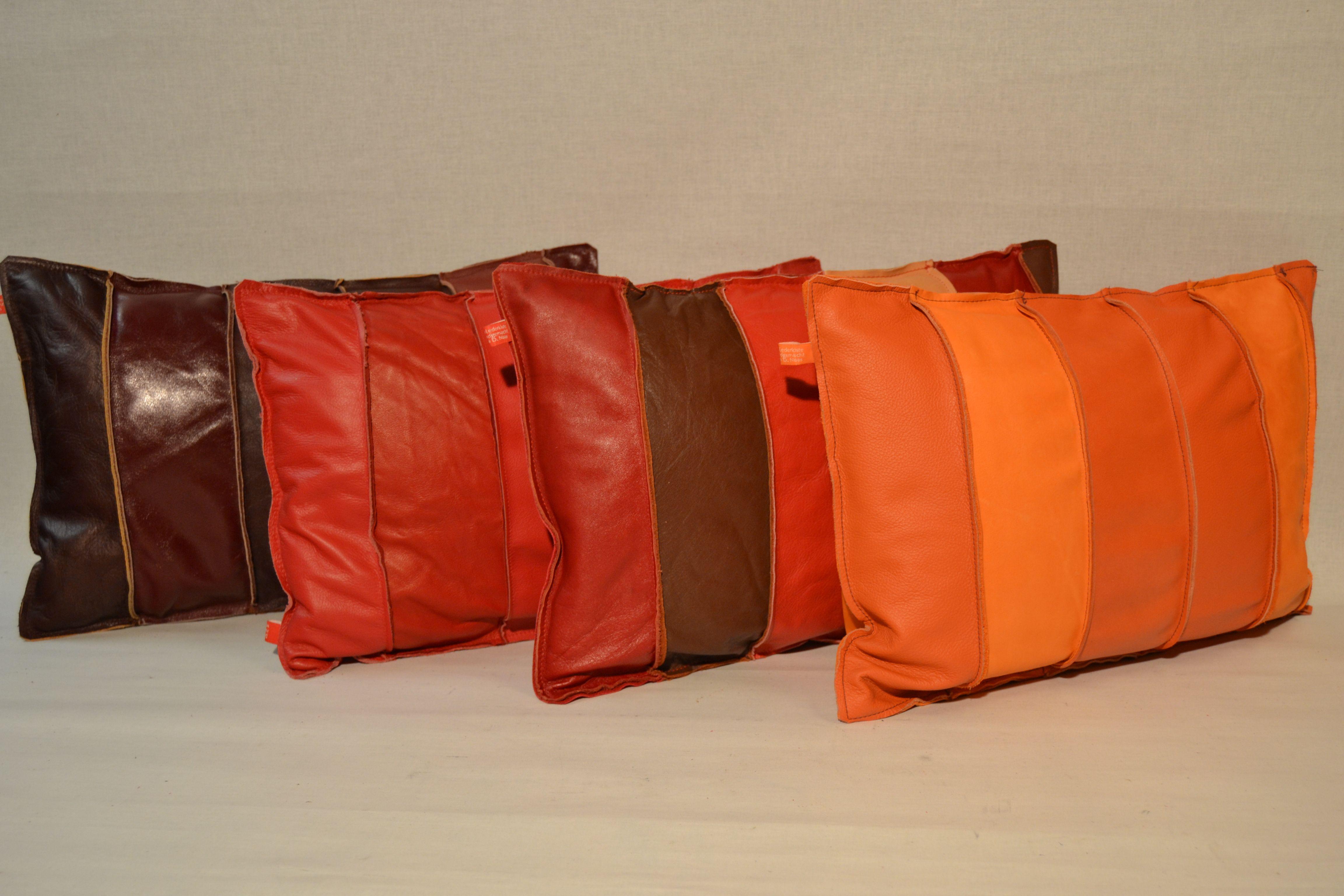 Leather Cushion Handmade Almohadones Cuero