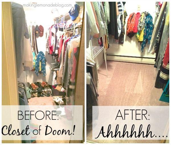 Closet Organizing Tips 6 secrets for closet organization (tips & tricks!) | closet