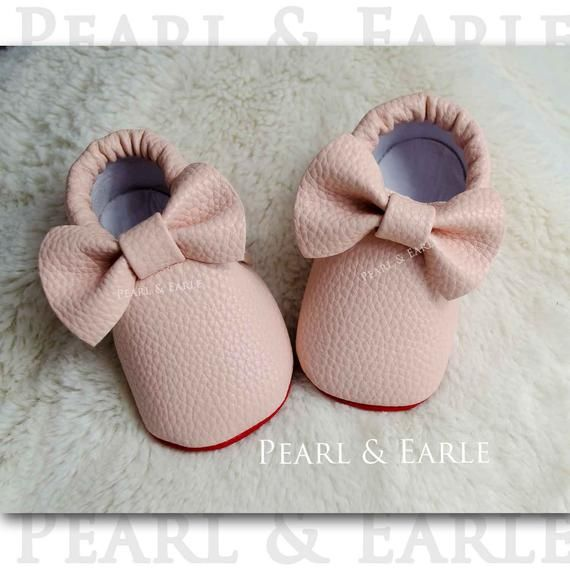 944d1824758 Red Bottom Baby Moccasins