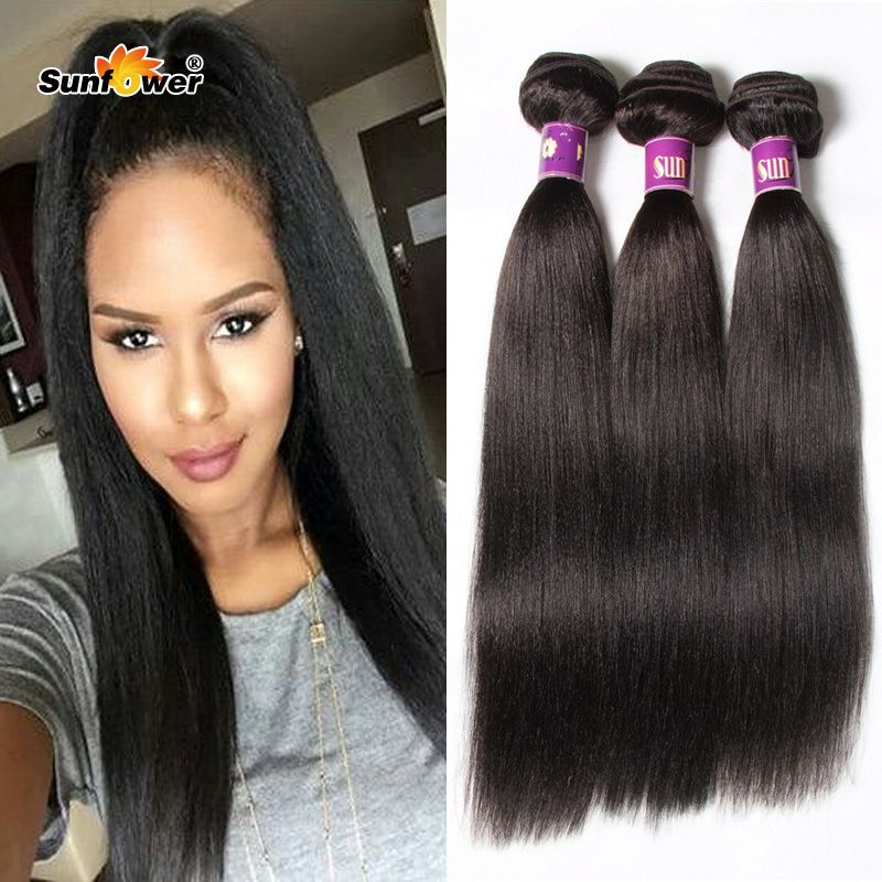 Wholesale 6a Unprocessed Italian Light Yaki Human Hair Weave Cheap