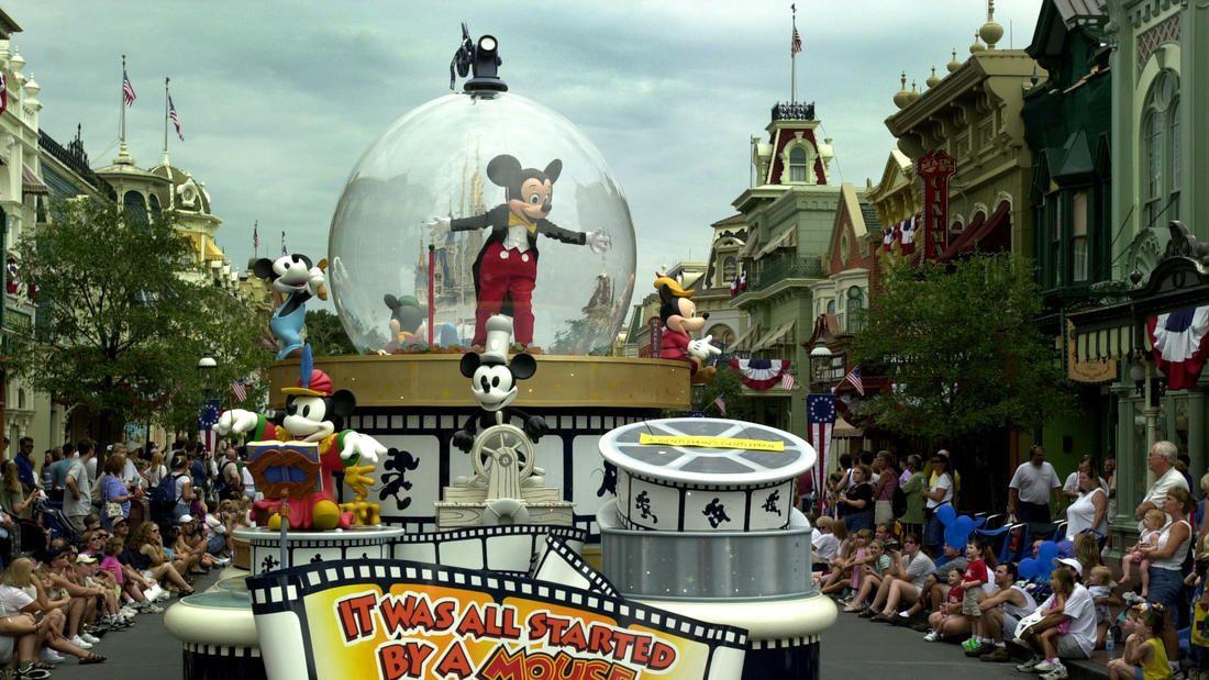 2001 Walt Disney World parades through the years