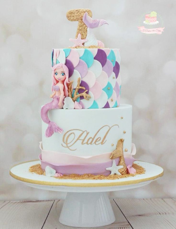 13 Mermaid Cakes Amp Party Ideas Mermaid Cakes Mermaid