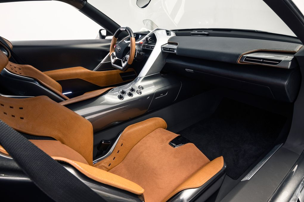 Toyota makes another beautiful  gran turismo supercar the verge also rh pinterest