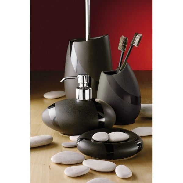 Stone Moka Bathroom Accessories Made Out Of Pottery Range Includes