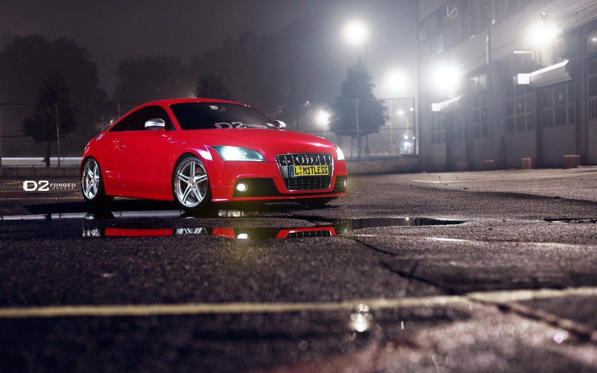 Energy Speed Audi Audi Red Night Audi Tt Red Audi Audi