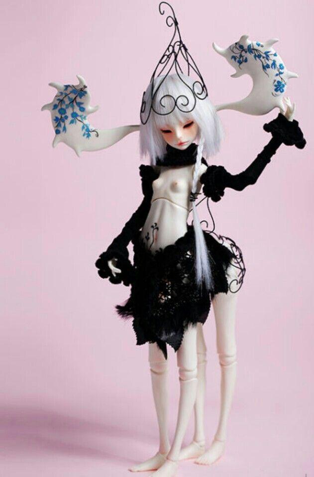 1//4 bjd MSD MDD minifee girl doll pink color flat shoes dollfie dream