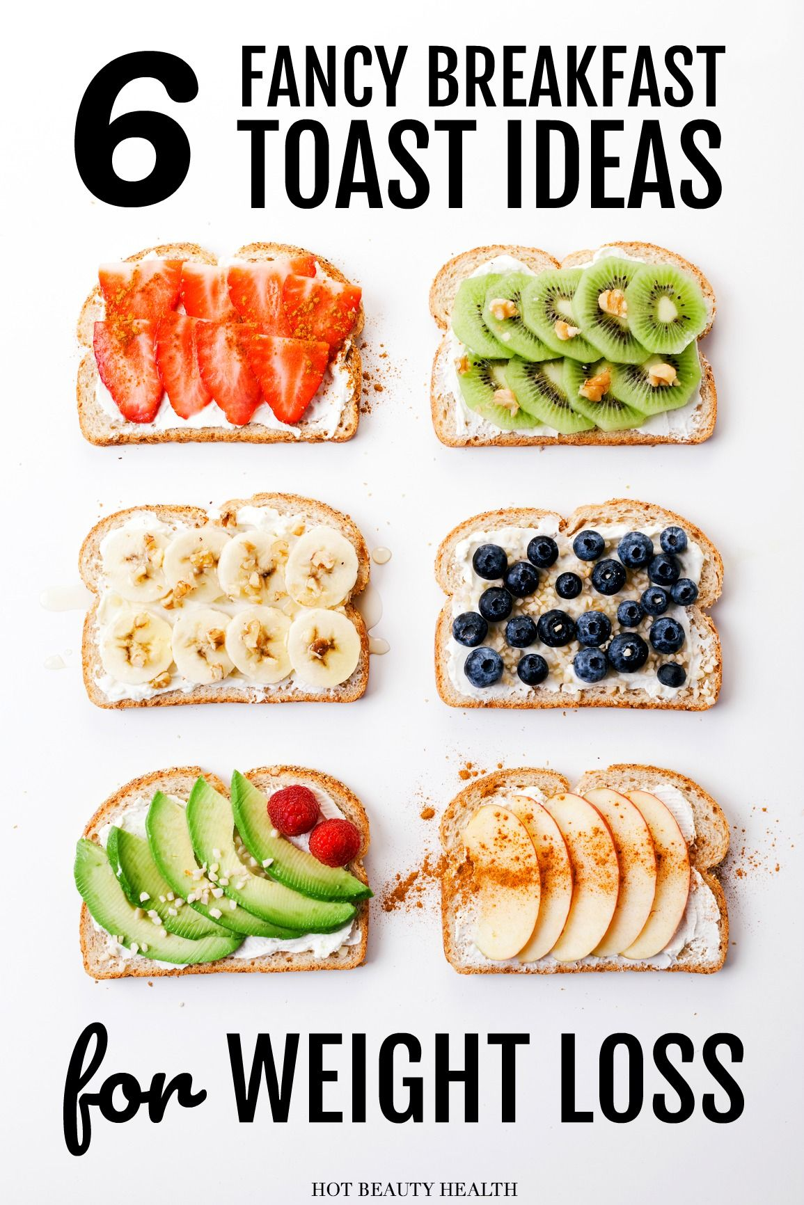 6 Easy & Creative Ways to Fancy Up Breakfast Toasts