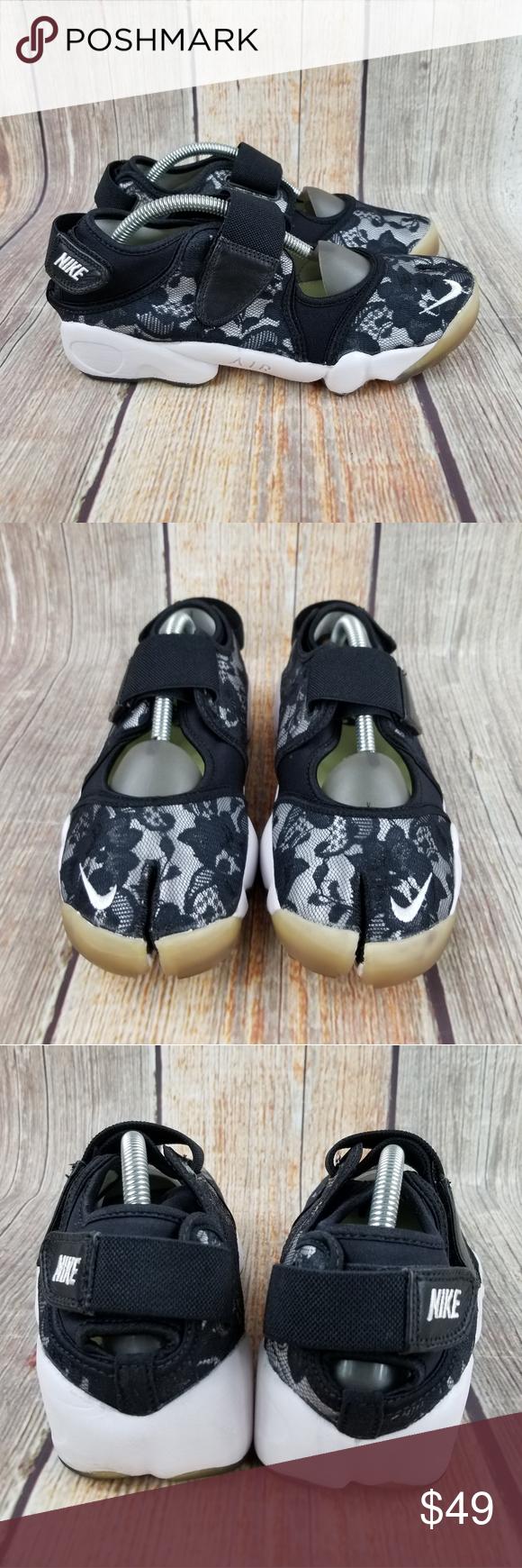 Nike Air Rift Split Toe Size 9   Nike