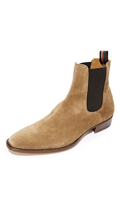 a5c4f1df04e Paul Smith Men's Bobby Suede Chelsea Boots, Camel | Shoes in 2019 ...