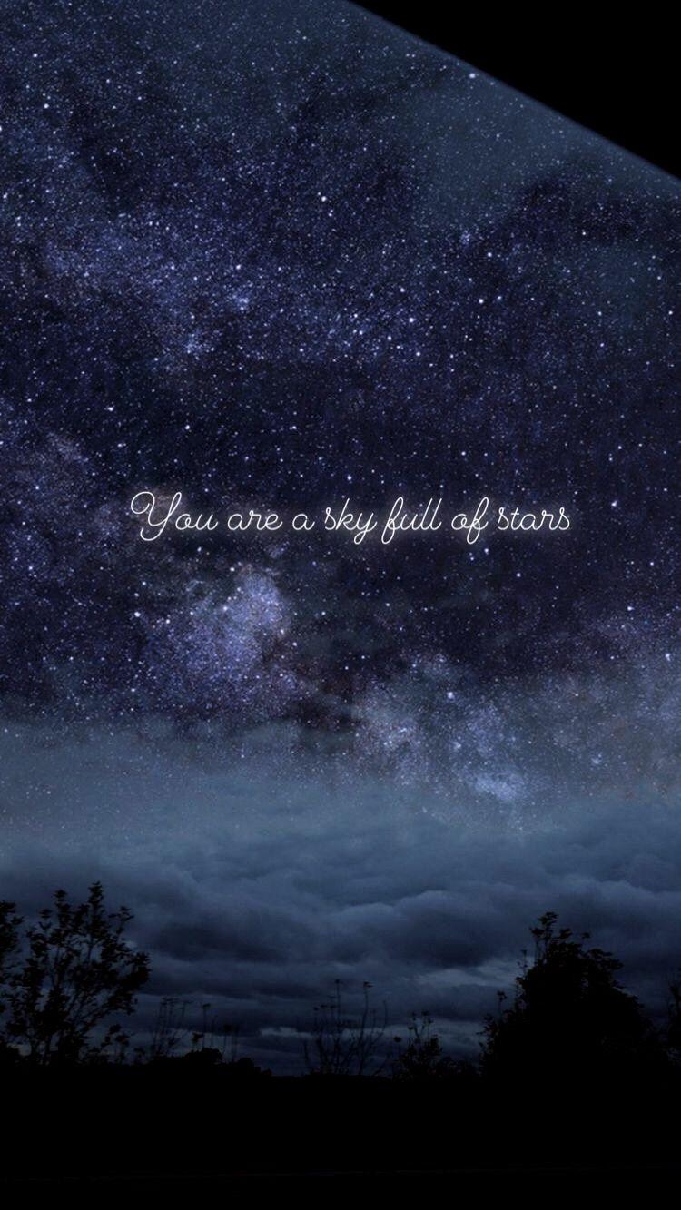 You Are A Sky Full Of Stars ゚ Night Sky Photos Sky Full Of Stars Beautiful Sky