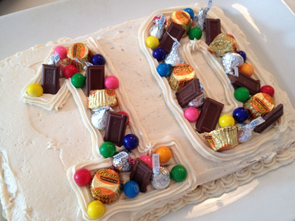 Decadent subees kitchen 10 birthday cake 10th