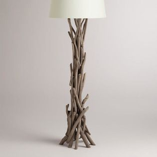 Driftwood floor lamp base 199 beach house pinterest floor driftwood floor lamp base 199 aloadofball Image collections