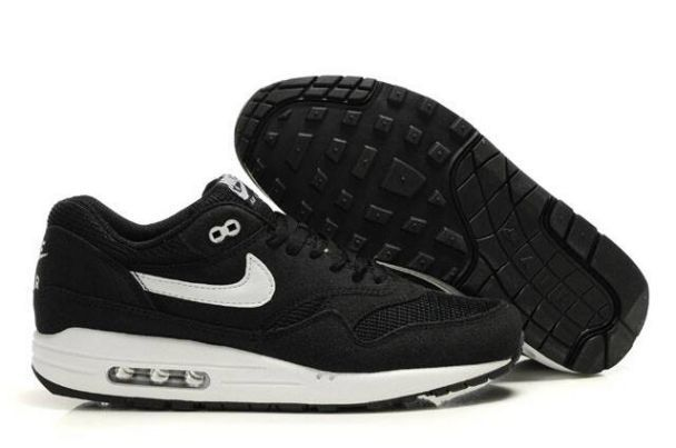 Nike Air Max 1 Men's Black/White | Nike air max baratos ...