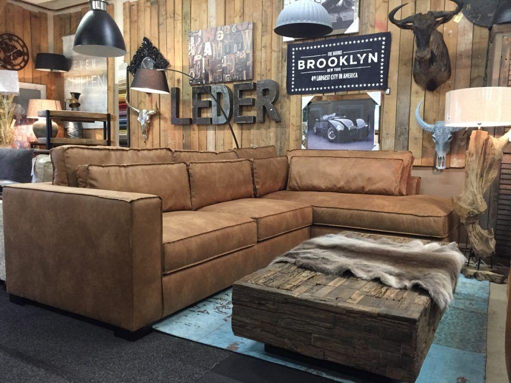 Hoekbank Leer Lounge.Aymee Lounge Hoekbank In Sterk Colorado Eco Leder Met