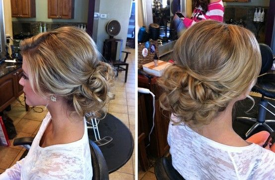 this girl has a TON of cute wedding hairstyle ideas! by amcv24