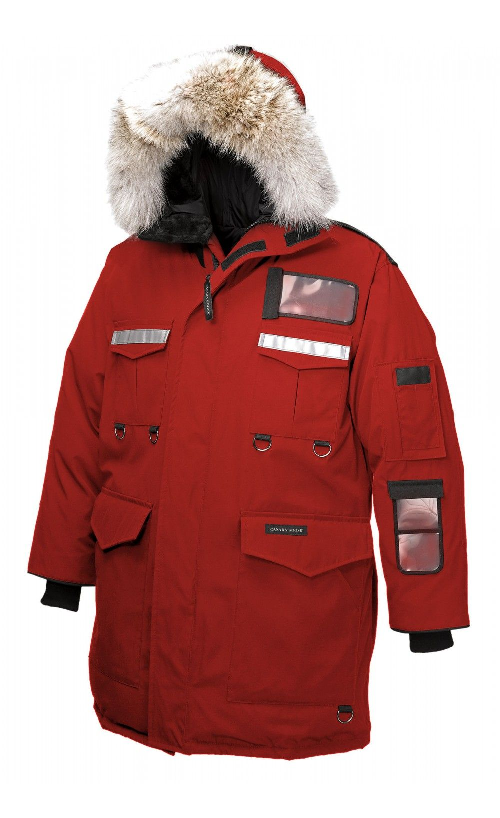 canada goose softshell red
