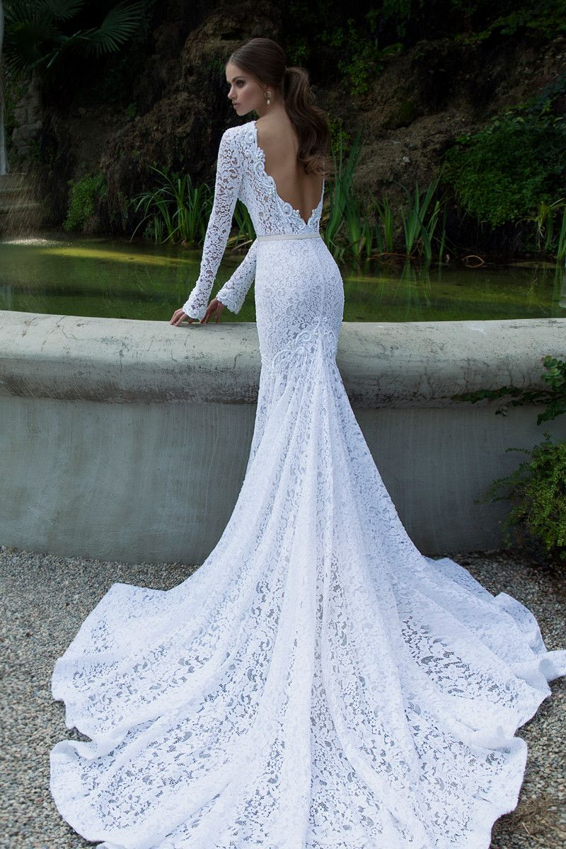 50 Gorgeous Wedding Dresses with Train   Pinterest   Wedding dress ...