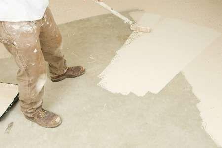 How To Paint Concrete Painted Concrete Floors Garage Floor Epoxy Floor