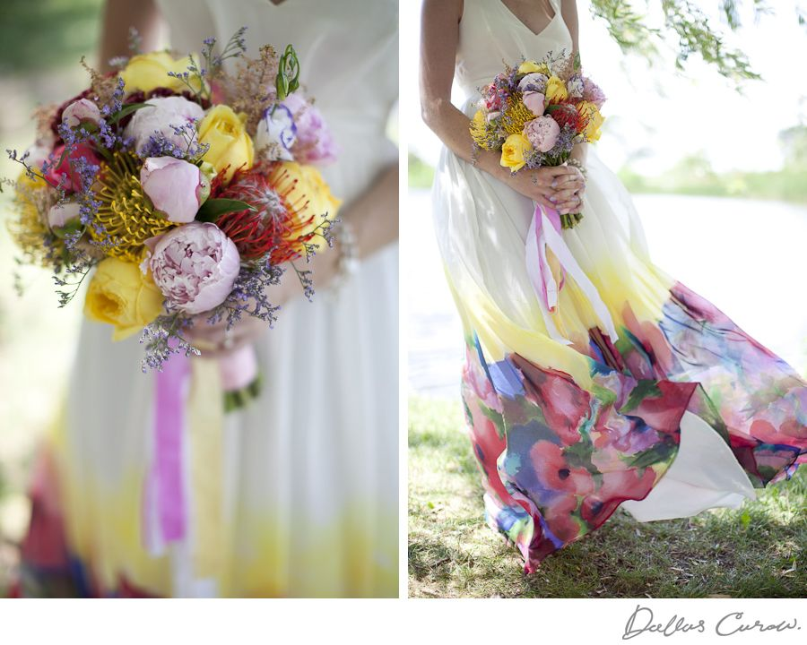 Watercolour Wedding Dress Wedding Dresses For Sale Floral