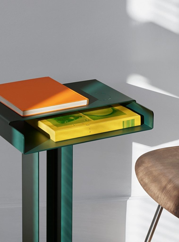 Meta side table by New Tendency | Four-legged | Pinterest