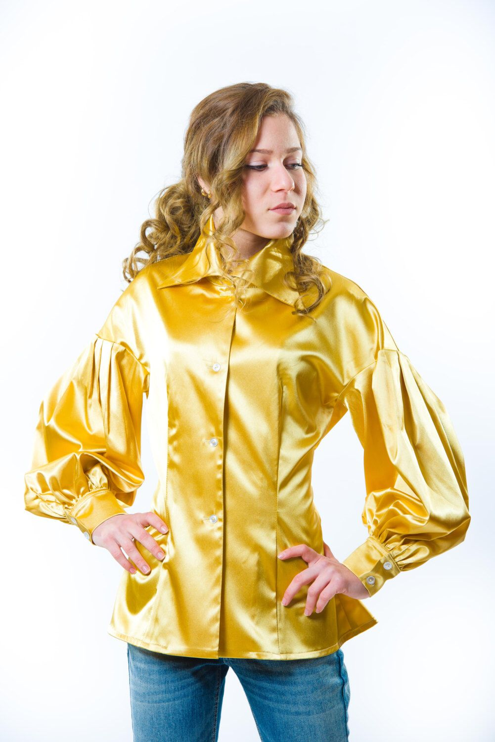 A personal favorite from my Etsy shop https://www.etsy.com/listing/253697151/1950s-golden-yellow-satin-cocktail