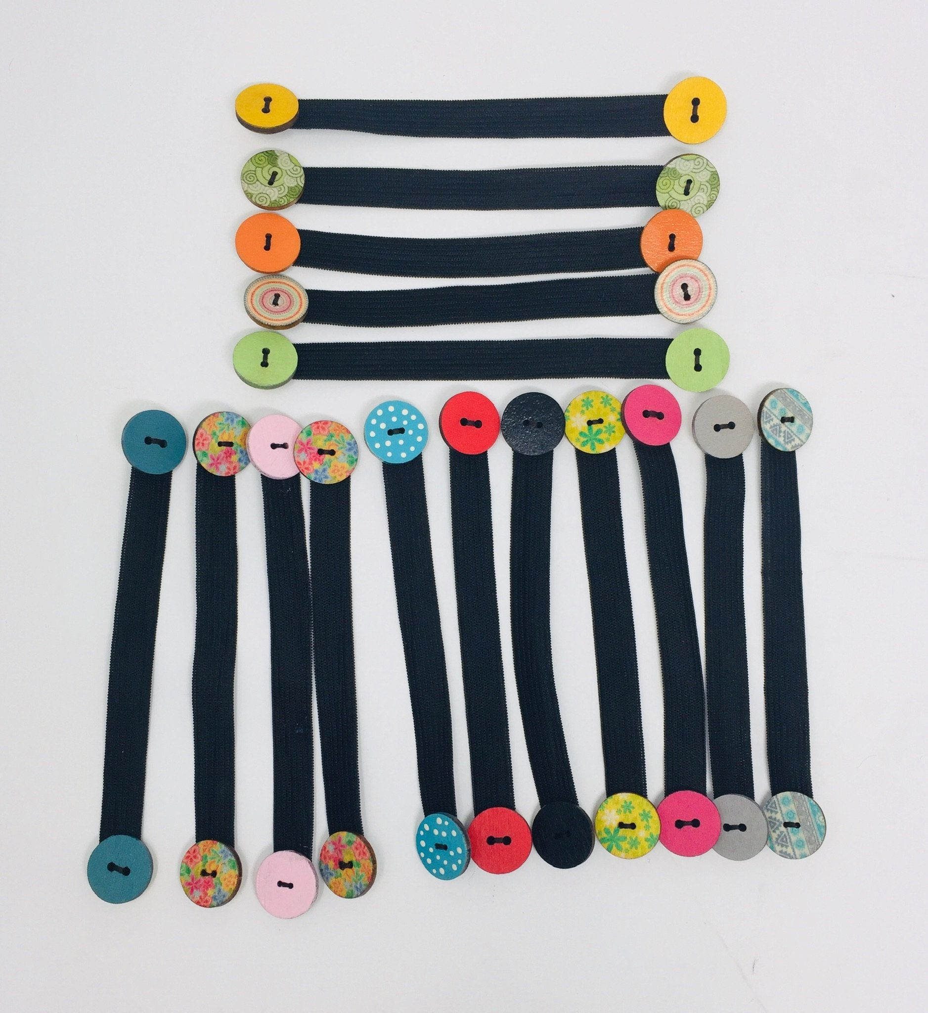 Elastic Face Mask Extender with Buttons (1 Extende