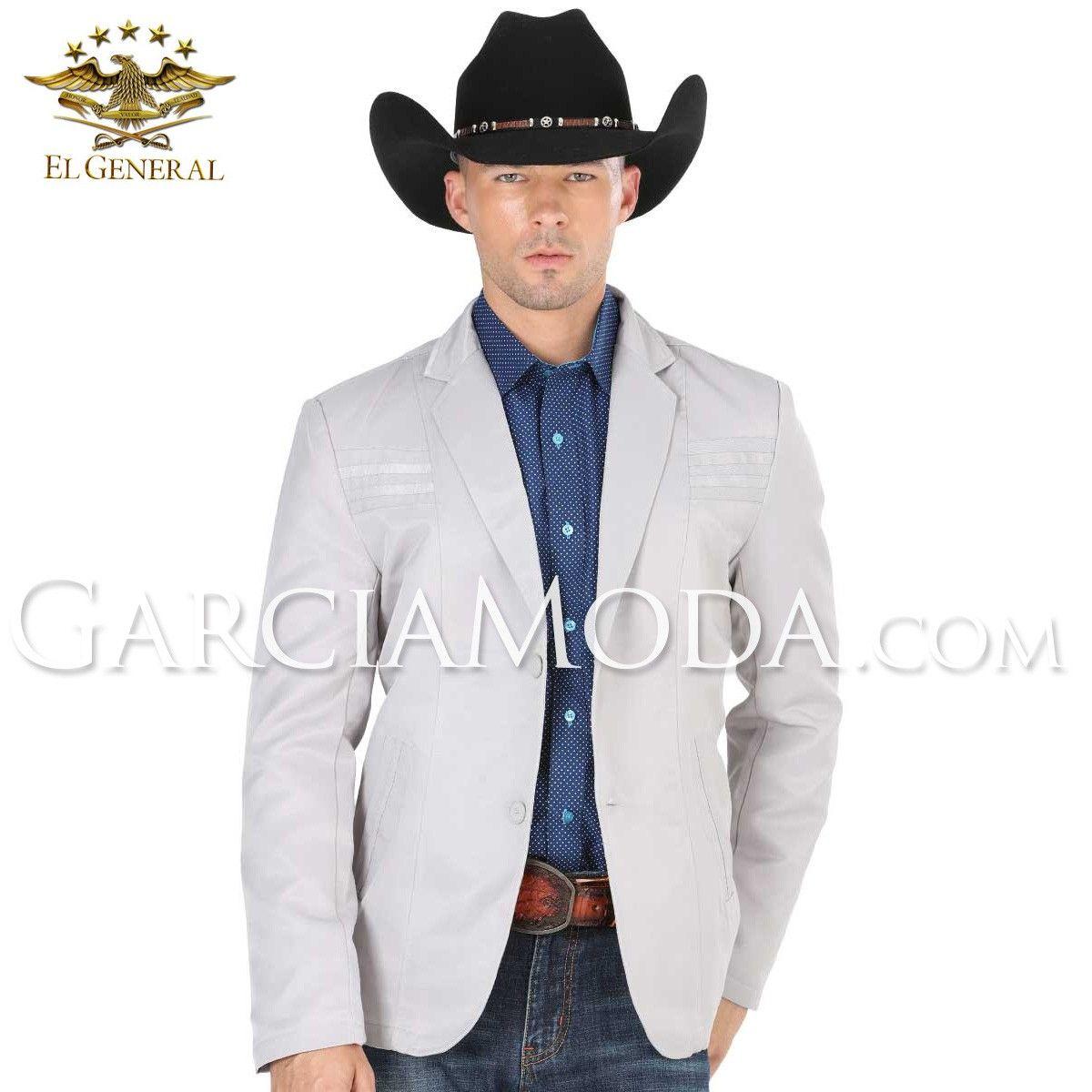 Blazer Fino El General Western Wear 34993 Silver Diseño