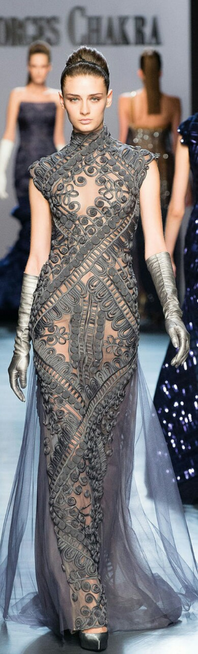 Georges Chakra Fall/ Winter Couture 2014-15