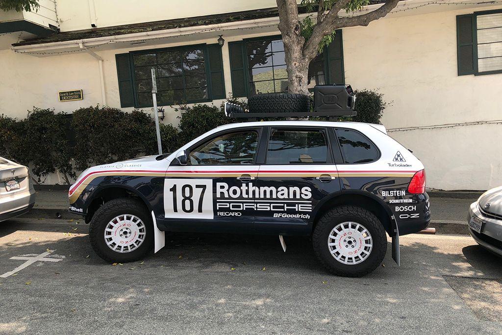 This Porsche Cayenne Was The Coolest Car At Monterey Car Week Autotrader Porsche Cayenne Porsche Porsche 4x4