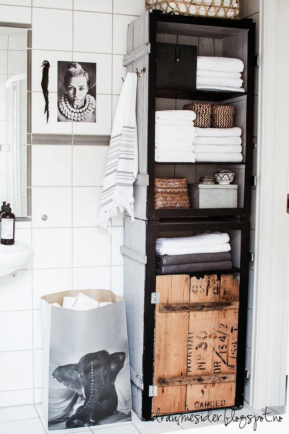Is it possible to love a t-i-n-y bathroom? (Elin sine draumesider ...