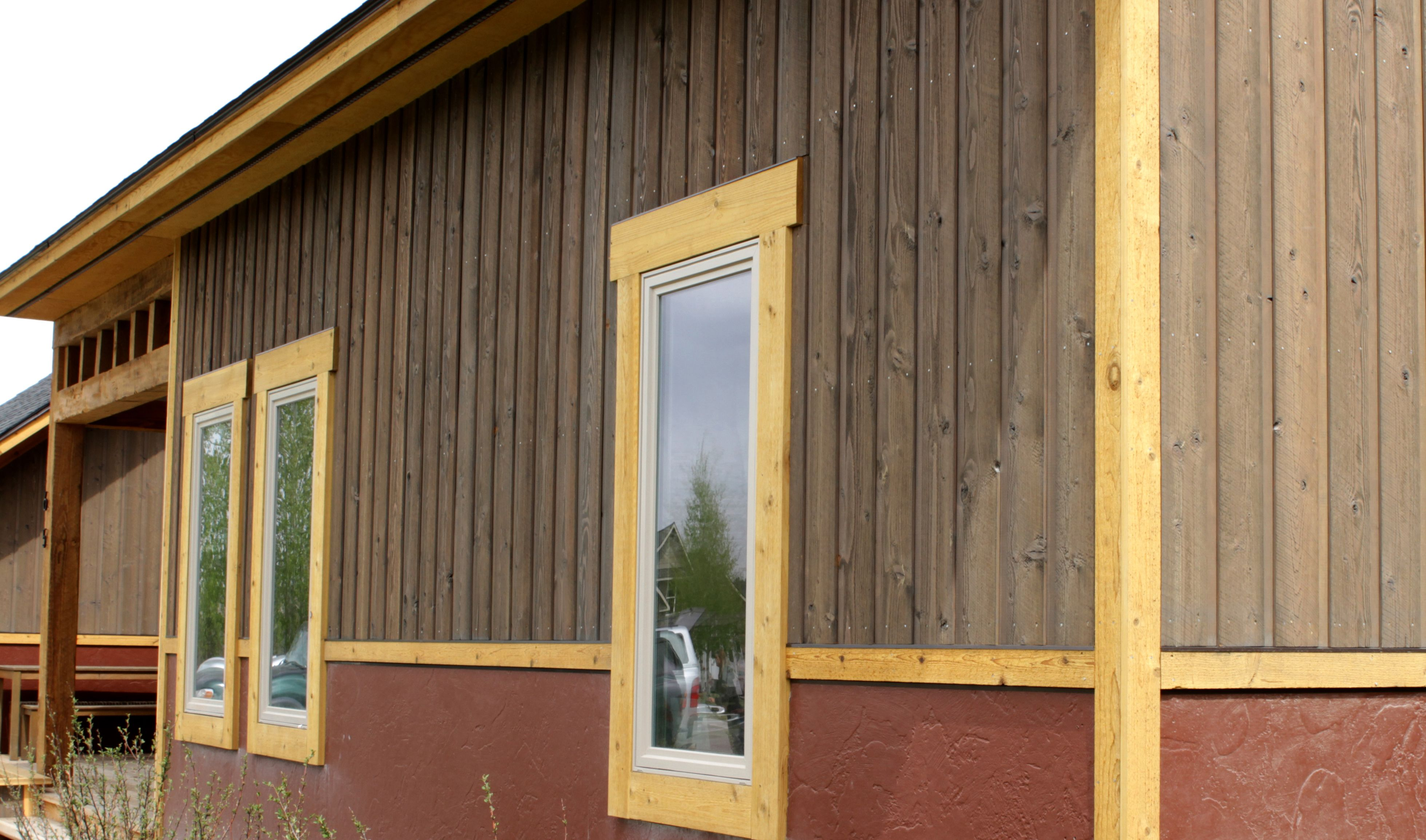Yeshaus siding lp smart side engineered wood siding for Lp engineered wood