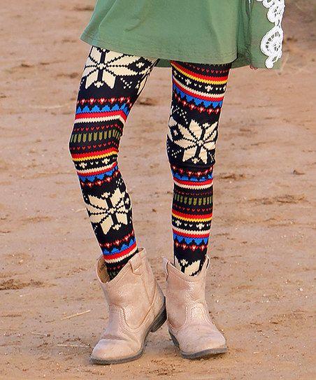 Mayah Kay Fashion Boutique Red Sunburst Leggings - Toddler & Kids | zulily
