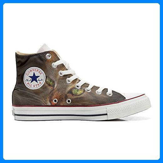 Converse All Star Hi Customized personalisierte Schuhe (Handwerk Schuhe) Lince