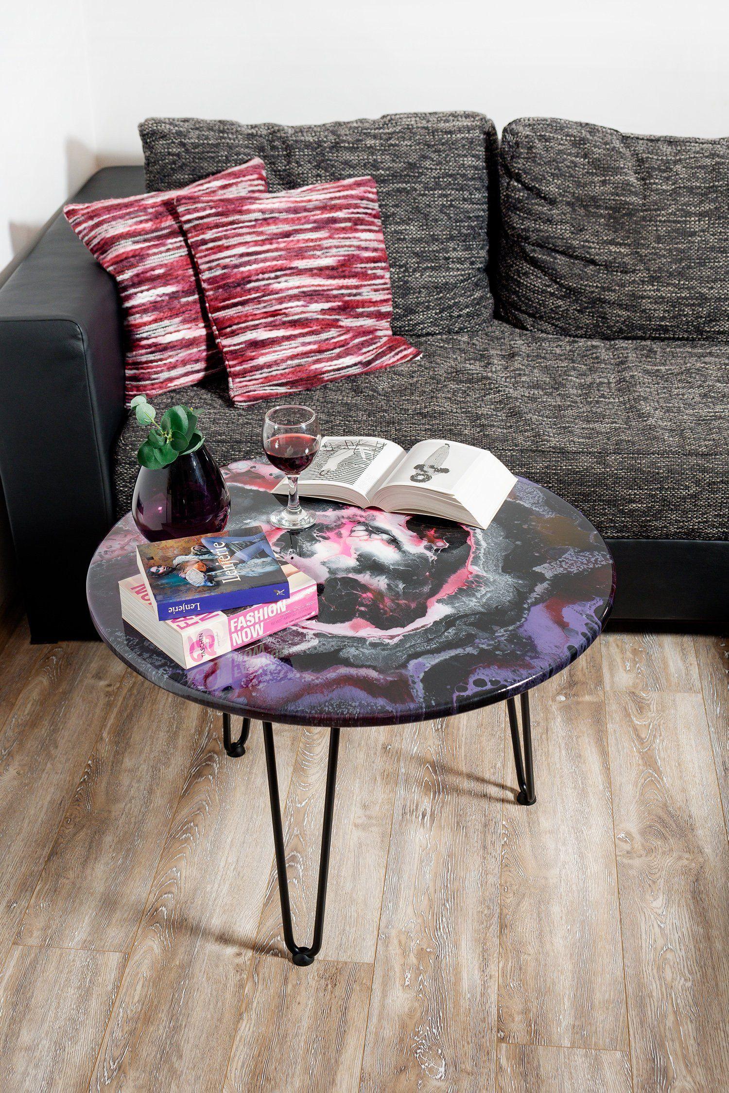 kind coffee table resin art