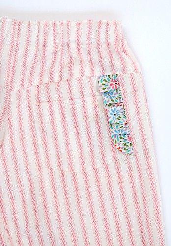 schönes Detail für Kinderhose