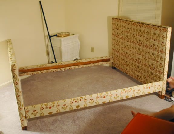 diy upholstered headboard yes please - Diy Upholstered Bed Frame