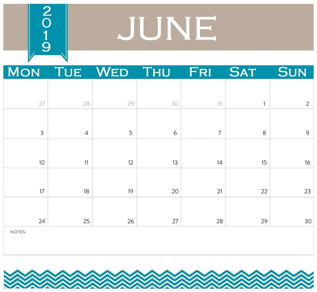 June 2019 Calendar Excel Excel Calendar Excel Calendar Template