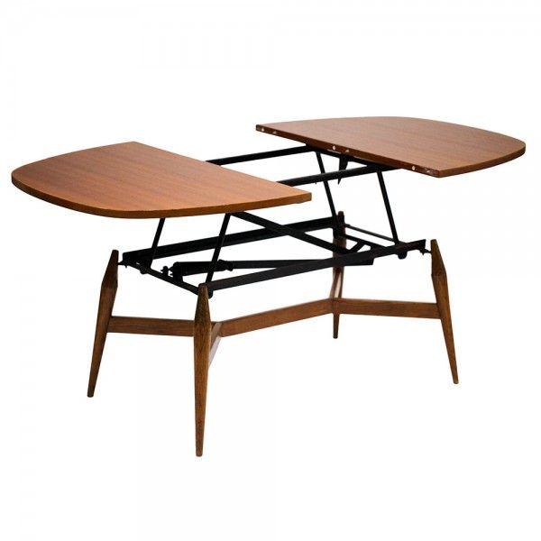 table basse scandinave relevable