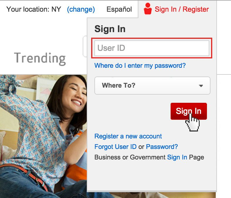 Verizon FIOS login. FIOS is the name of a service provided