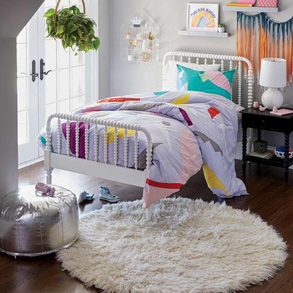 Jenny Lind White Bed Boys Bedroom Decor White Bedding White