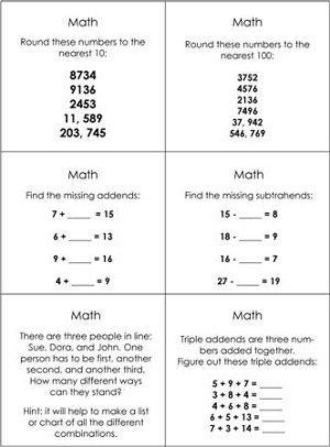 Advanced Math Studies Command Cards Studying Math Math Montessori Lessons