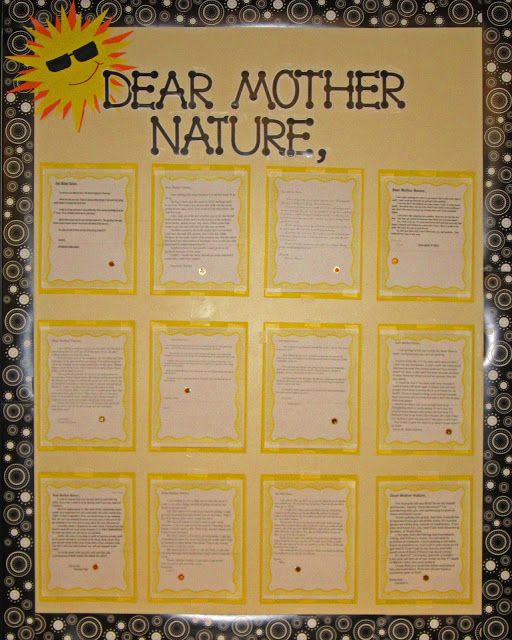 Mother nature essay