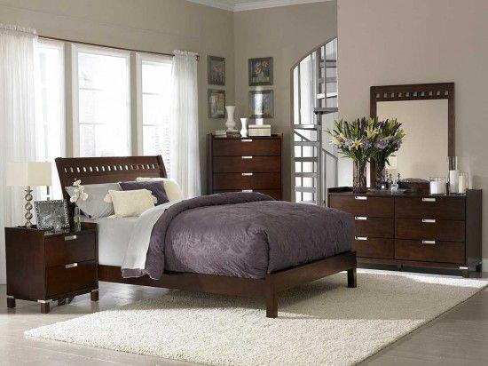 Soothing Warmth Brown Bedroom Master Bedrooms Decor Interior Design Bedroom Bedroom Set Designs