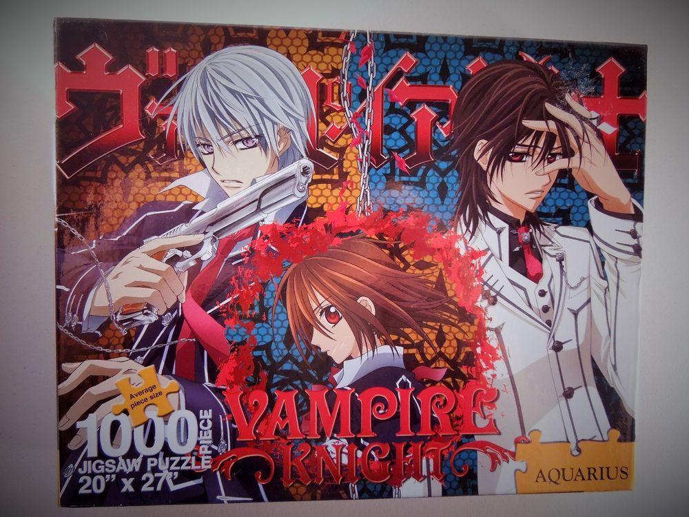 Anime jigsaw puzzle vampire knight matsuri hino goth magna