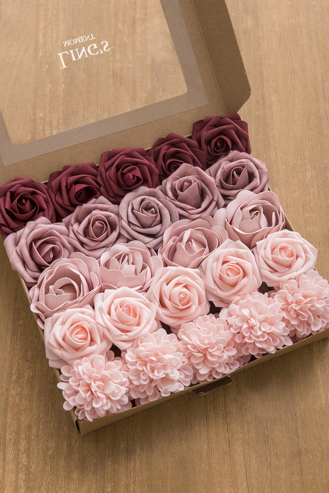 Flowers Box Sets for SALE 6 Styles in 2020 Burgundy