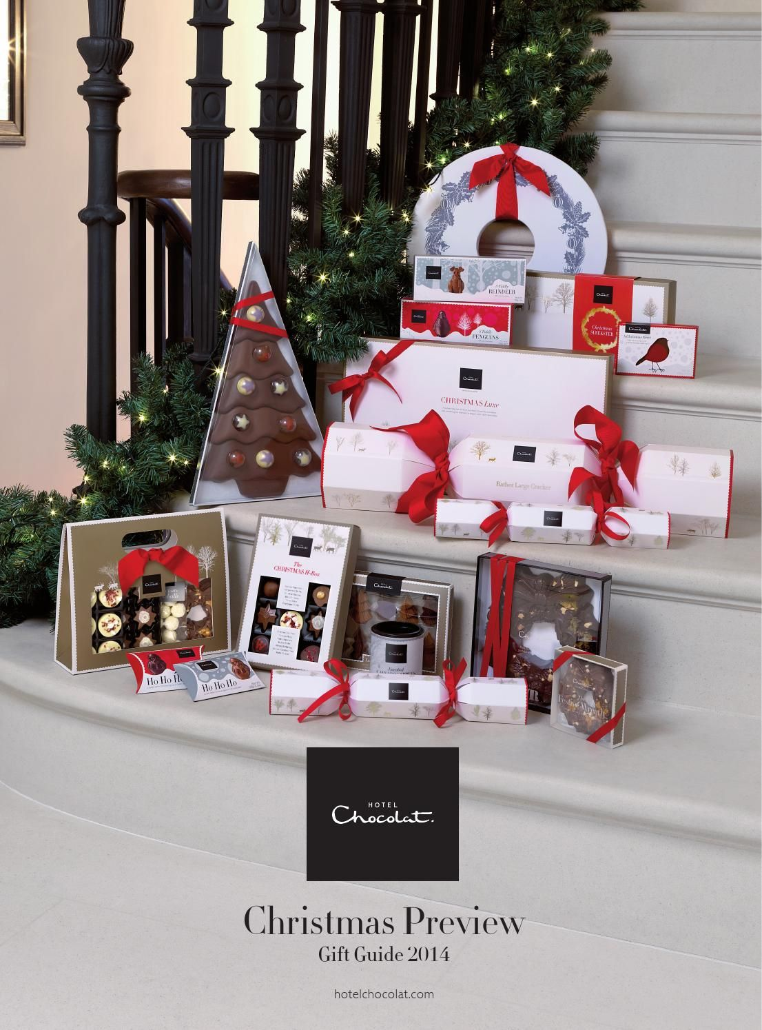 Hotel Chocolat Christmas Gift Guide 2014 1 | Food | Pinterest ...